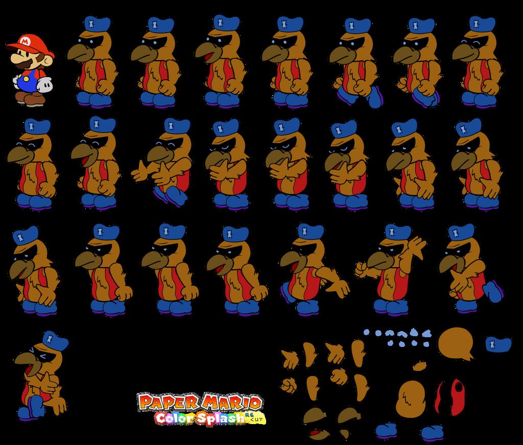 Orion v2 (Paper Mario Color Splash Recut) by DerekminyA