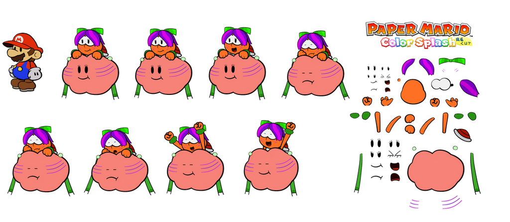 Lakishima (Paper Mario Color Splash Recut Switch) by DerekminyA