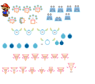 Pixls set A (Super Paper Mario)