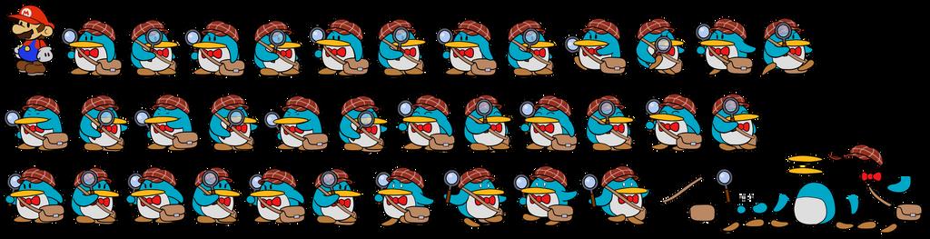 Pennington (Paper Mario Style)