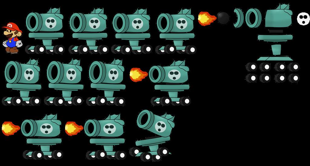 Autobomb (Paper Mario Style)