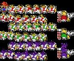 Cheep Cheeps (Paper Mario-Style, Modern)