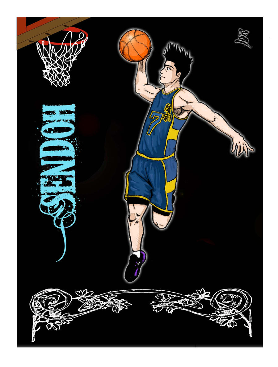 Slam Dunk Sendoh Vs Rukawa Pin Slam Dunk Sendoh V...