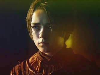 Arya Stark by afrodisianus