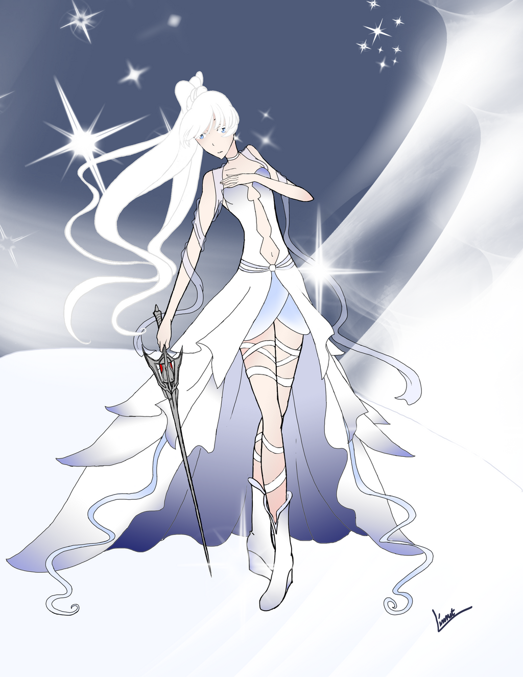 Princess Weiss Schnee by XLinnetX