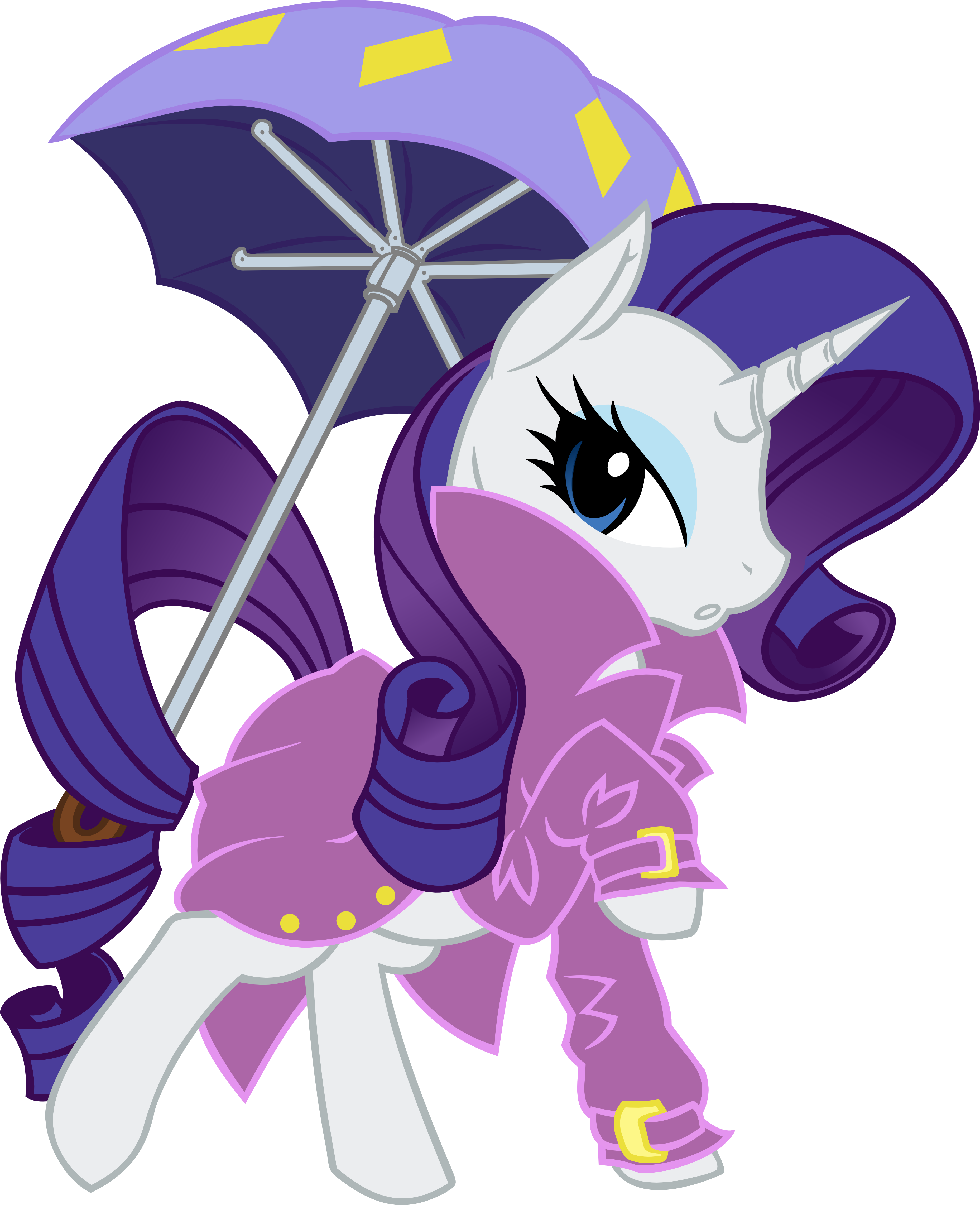 Rarity - Jacket by Ookami-95