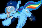 Rainbow Dash - Sports gear
