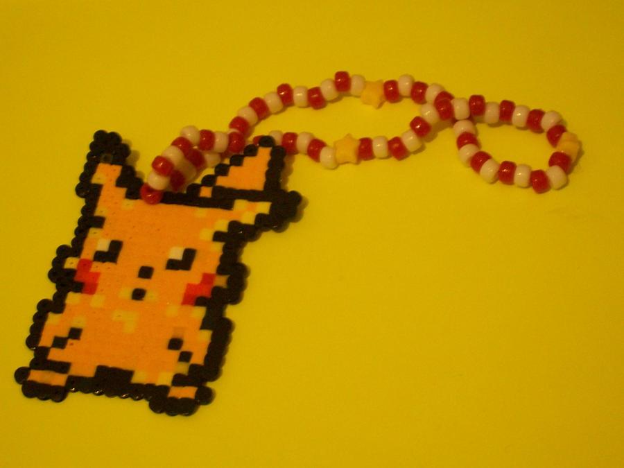 8-Bit Pikachu Kandi. by Satsuki-Yuki