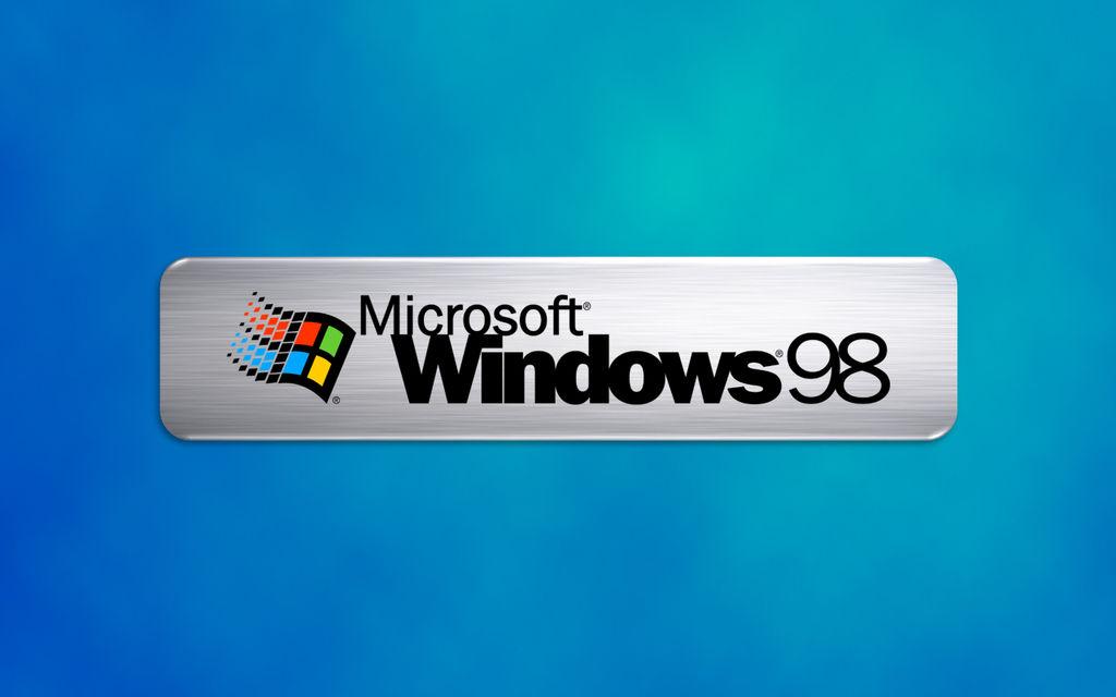 Windows 98 Logo Wallpaper 1280x800