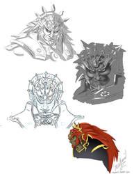 Ganondorf by majumi