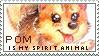 Pom Is My Spirit Animal - FREE TO USE STAMP by Blusagi