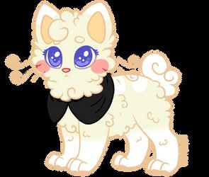 Con-Pon the kitten by Blusagi