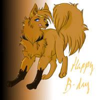 Happy birthday ish by suki-inu
