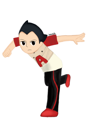 Smashified astro boy  by Manahan-Aundrey