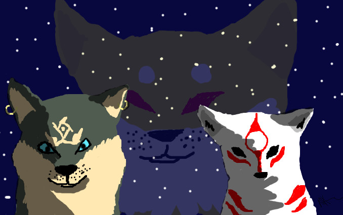 Okami And Wolf Link   Wolf Link And Okami