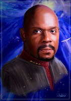 Captain Benjamin Sisko by Dahkur
