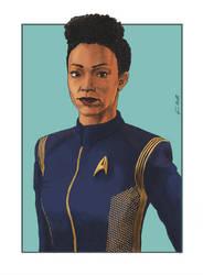 Women of Star Trek (01) - Michael Burnham (DSC) by Dahkur