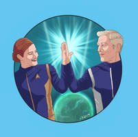Dynamic Duos DSC X - Tilly and Stamets