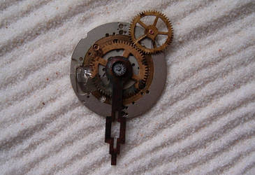 Timekeeper's Seal Pendant by aequinox