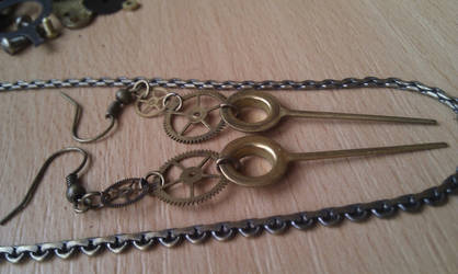 Symmetric Earrings by aequinox