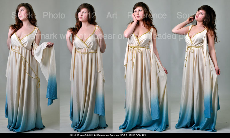 Roman Woman Stock Premium Content by ArtReferenceSource