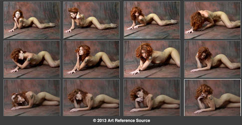 Kaitlyn 12 Nude Poses Stock Comm Use OK by ArtReferenceSource
