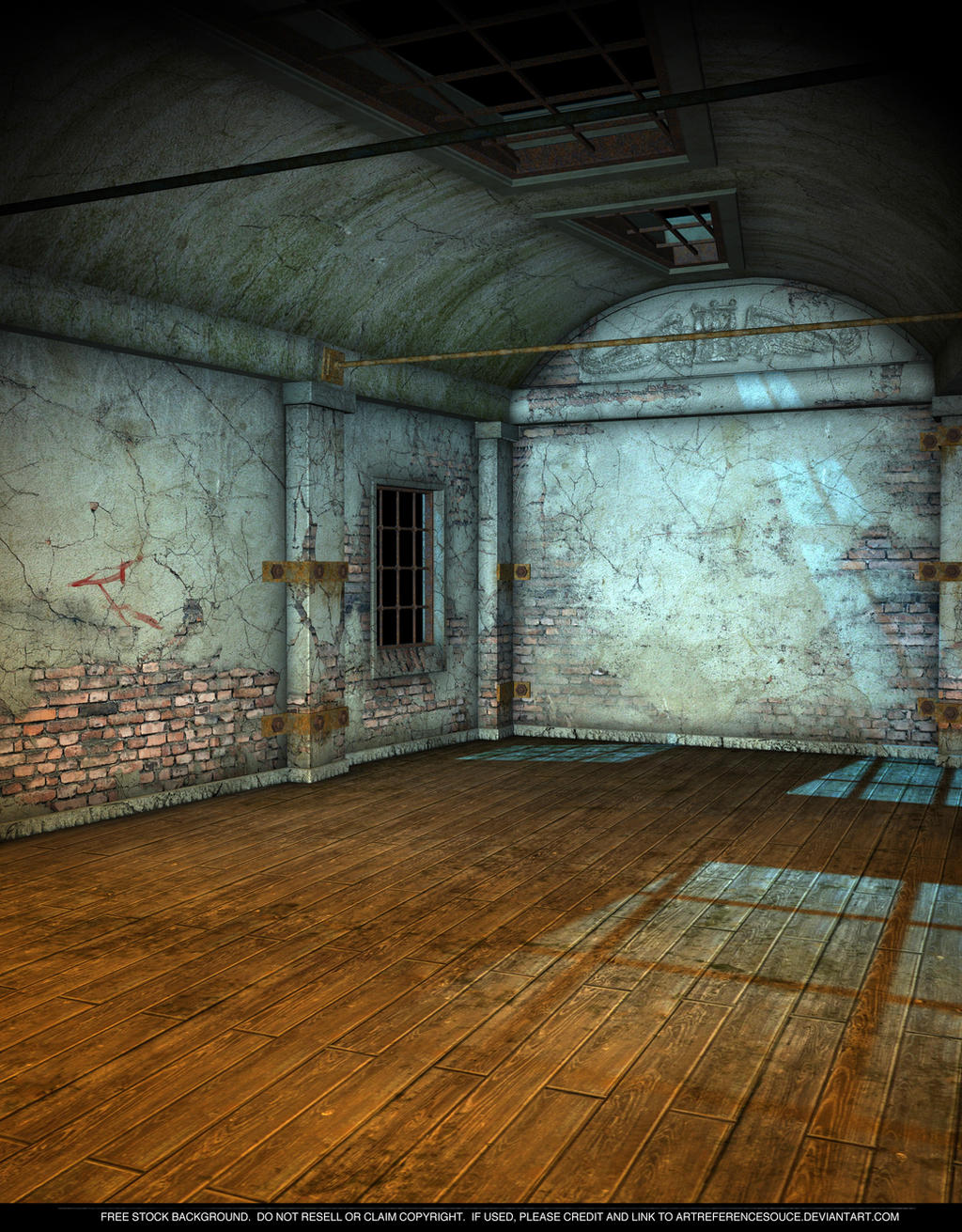 FREE STOCK - Creepy Room by ArtReferenceSource