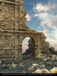 FREE STOCK - Castle Ruins Background