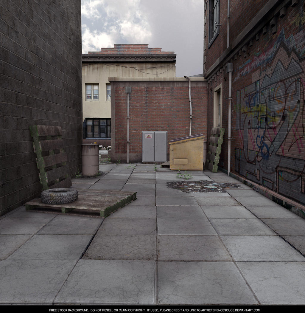 FREE STOCK - Overcast Alley