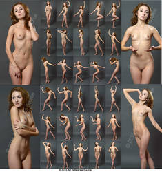 Stock:  Zoe 30 elegant and creative nudes by ArtReferenceSource