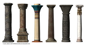 Stock:  Column Styles by ArtReferenceSource
