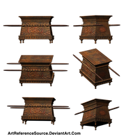 Stock:  Ark from various angles PNG by ArtReferenceSource