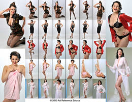 Stock: 1940's Retro Pinup Poses and Fashion by ArtReferenceSource