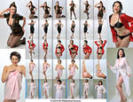 Stock: 1940's Retro Pinup Poses and Fashion
