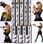 Stock:  Taylor Steampunk Outfit and Props