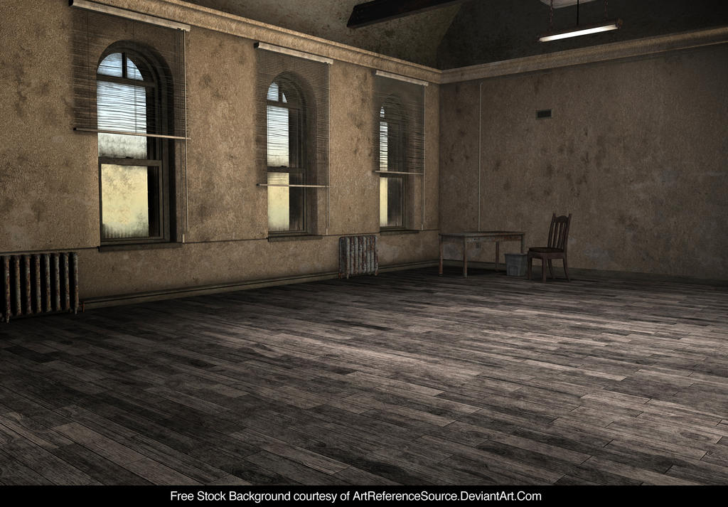 Room Background: Stock Background: Empty Room By ArtReferenceSource On