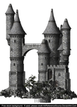 Free Stock:  Castle PNG