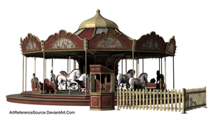 Stock:  Carousel PNG