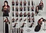 Stock:  Cute Goth Vampire (Winona Ryder look)
