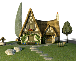 Free PNG:  Whimsical House by ArtReferenceSource