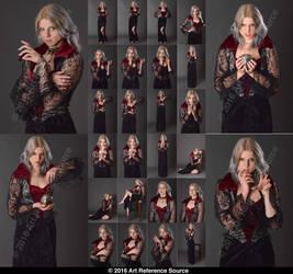 Stock: Lauren as Vampire