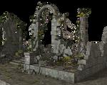 Free Stock PNG:  Jungle Ruins