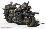 Free Stock PNG:  Wasteland Road Cruiser