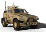 Free Stock PNG:  Army Hybid Vehicle