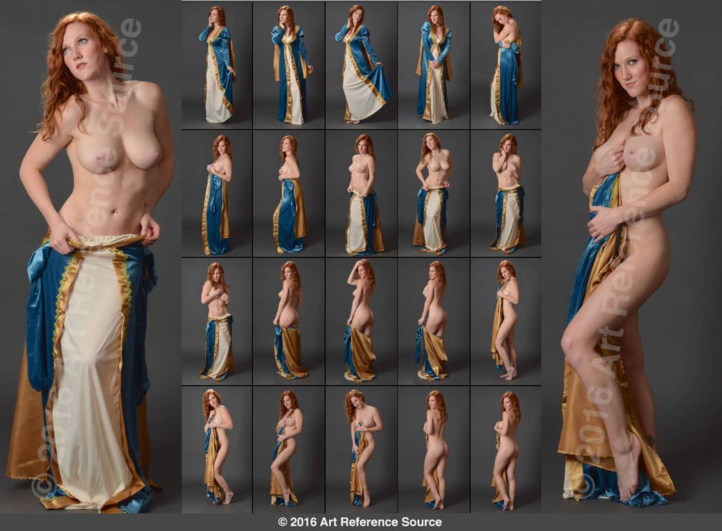 Amelia Rose Porn stock: amelia rose nude with princess gown
