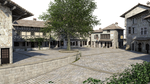 Free Stock PNG:  Medieval Village