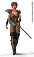 Free Stock PNG:  Varna, ready for battle