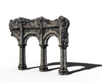 Free Stock PNG:  Old Arch Ruins