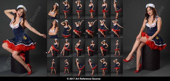 Stock: Celeste in Gil Elvgren Inspired Poses