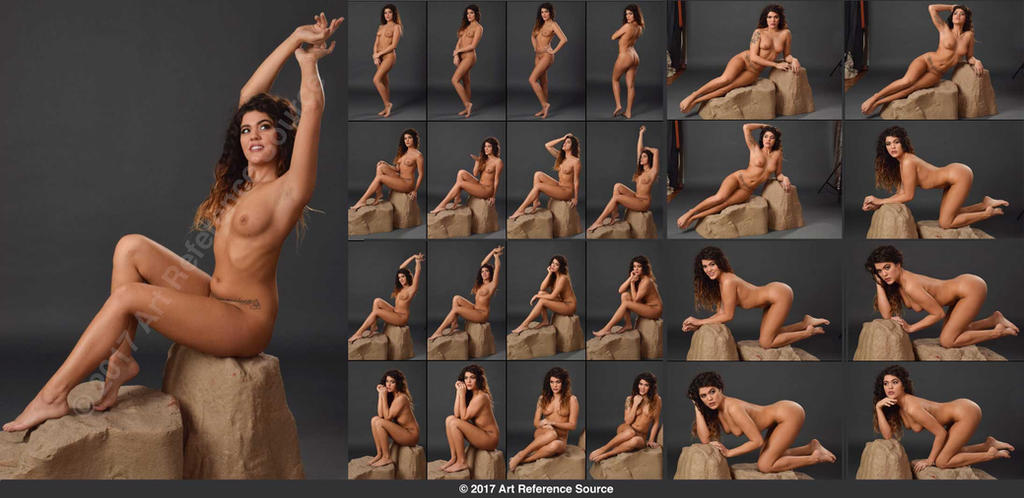 Nude art poses almost